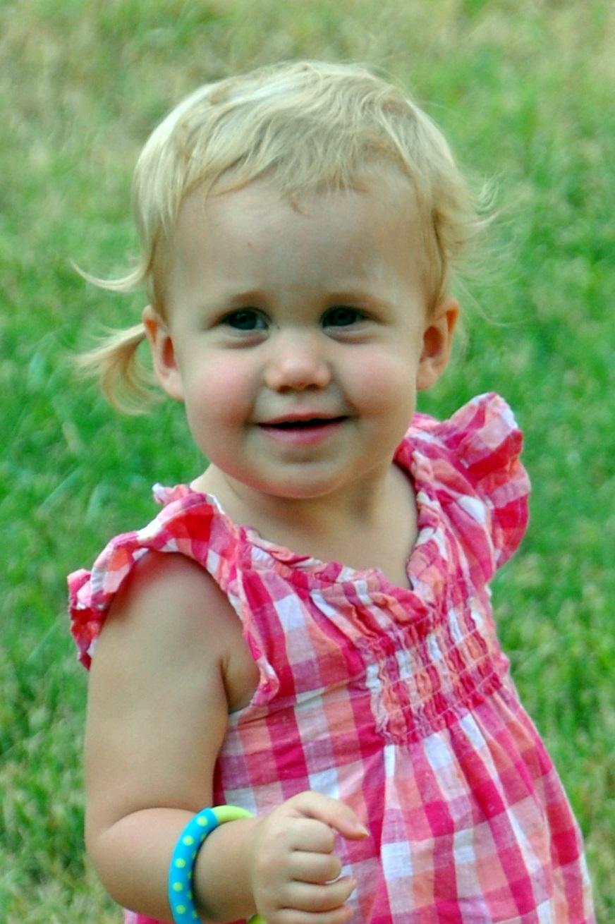 Chubby Little Baby Girl