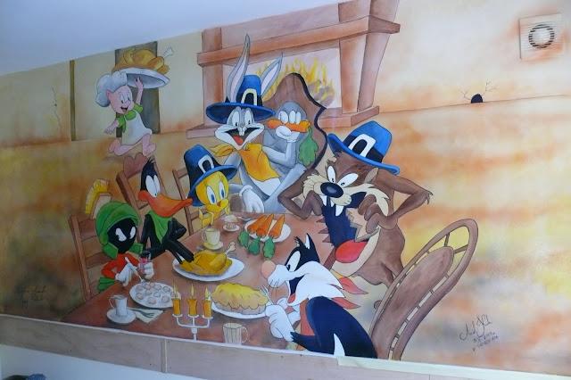 Künstlerische Wandmalerei, Warszawa, aranżacja pokoju dziecięcego, wystrój ścian w pokoju dziecka
