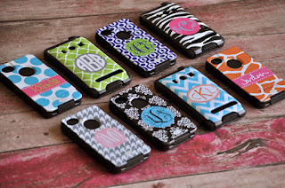 Monogrammed Otterbox for iPhone 4/4s