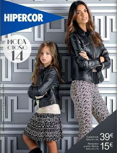 catalogo hipercor moda de otoño 2014