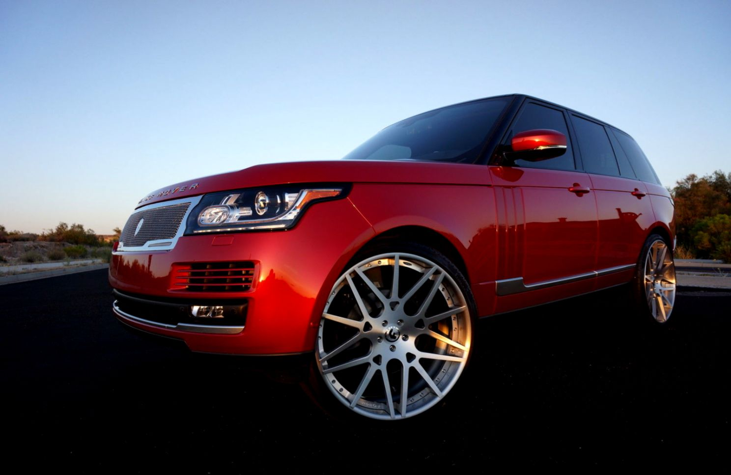 Range Rover 2014 On 26 Inch Rims