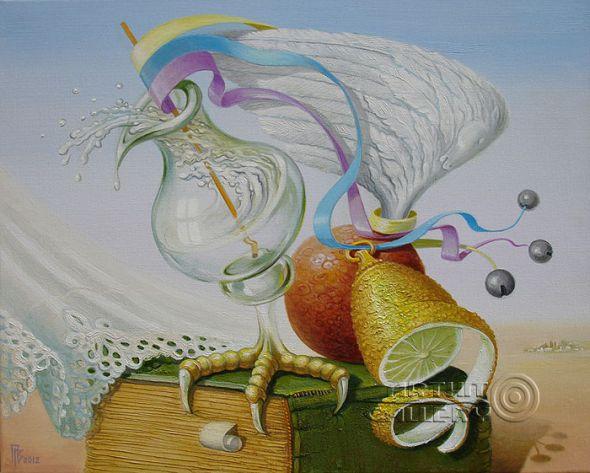 Gennady Privedentsev art paintings surreal Surreal
