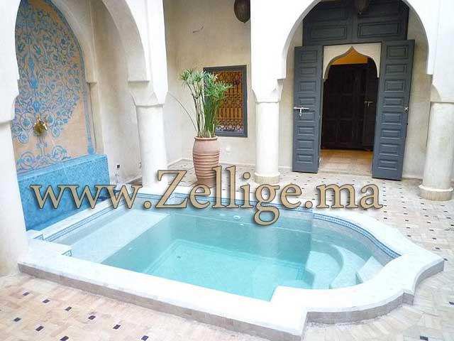 Zellige marocain salle de bain zellige marocain salle de for Salle bain marocaine