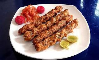 Chicken Reshmi Kababs