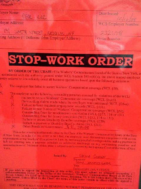 Stop Work Order Template. 9 stop work order template debt ...