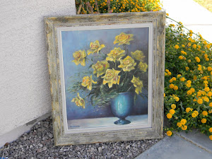 Yellow Roses Canvas  *SOLD*