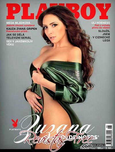 Playboy Czech Republic - Zuzana Berkyova - Junho 2014
