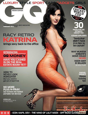 katrina kaif on GQ magazine