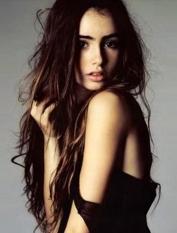 style rambut wanita panjang messy