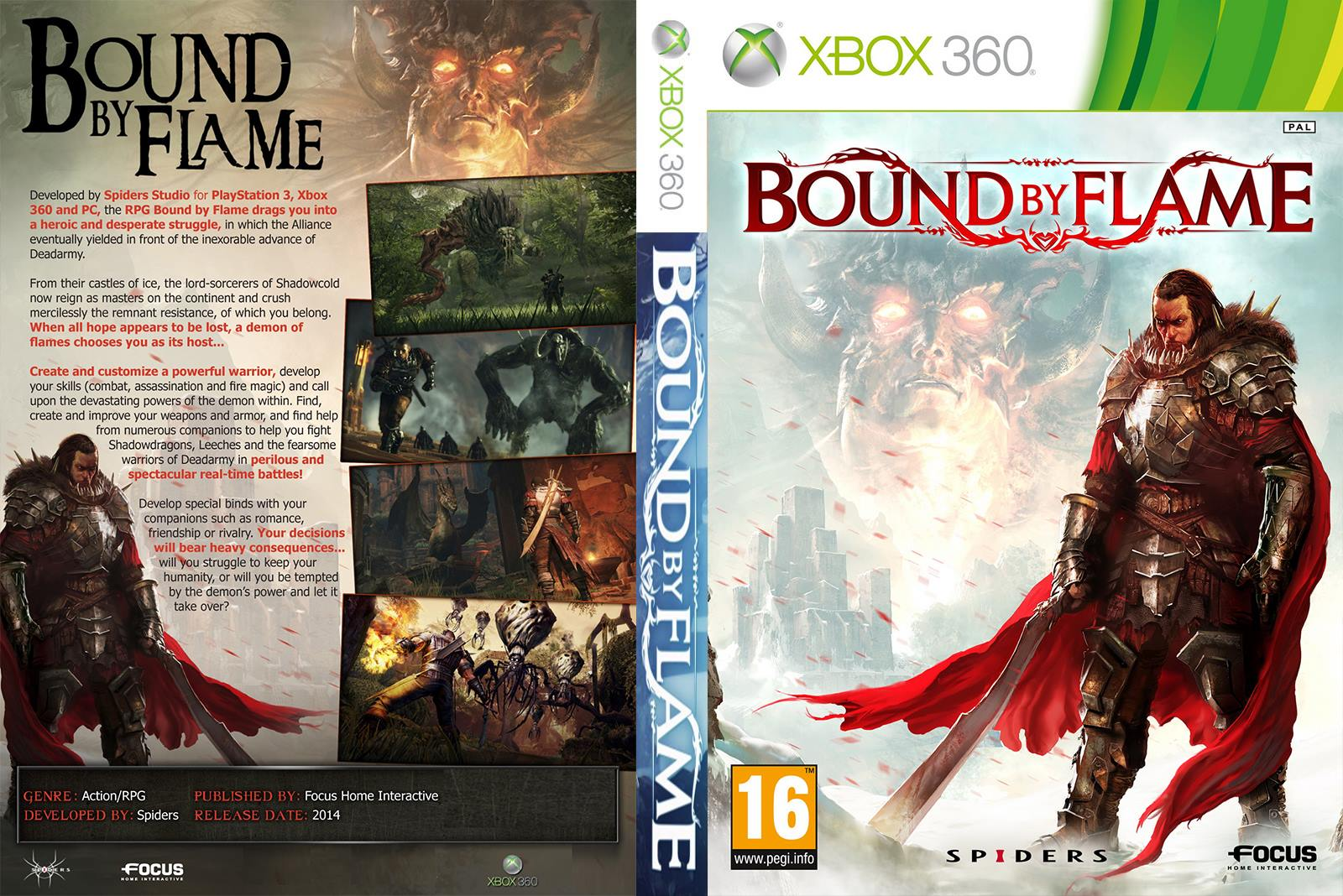 Capa Bound By Flame Xbox 360 [Exclusiva]