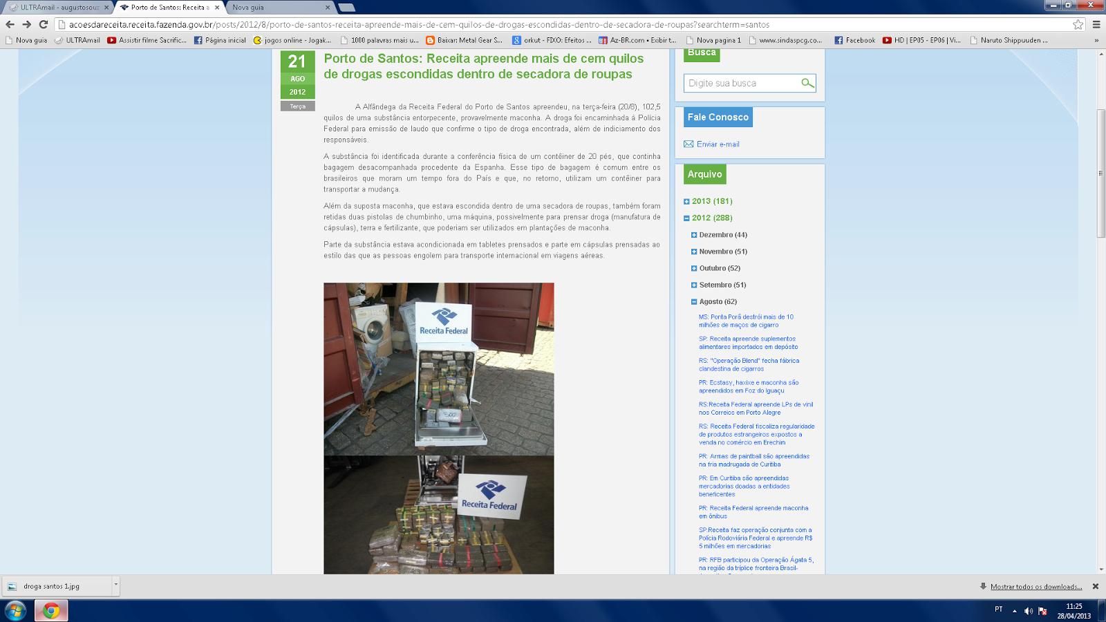 O por que da alfândega fazer verificação minuciosa em containers de mudanças