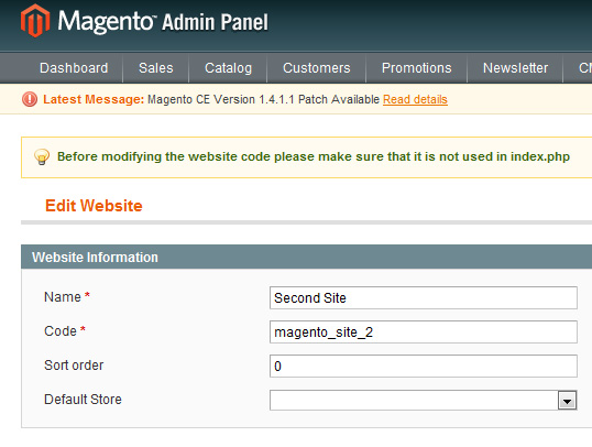 Magento for Designers: Multi-Store Functionality