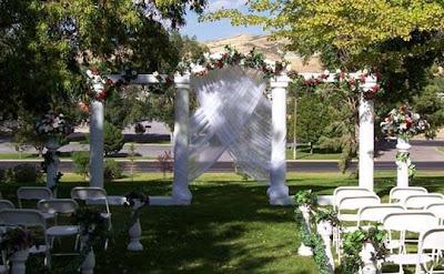 افكار جديدة لحفلات الزفاف المفتوحة فى الحدائق, open air wedding parties 2014