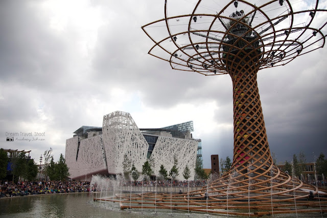 Exposition universelle Milano expo 2015 Pavillon Italie
