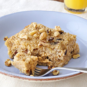 Baked oatmeal picture vegan recipe for kids