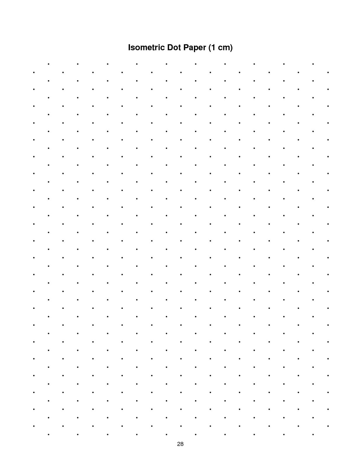Isometric Dot Drawings And Use This Isometric Dot