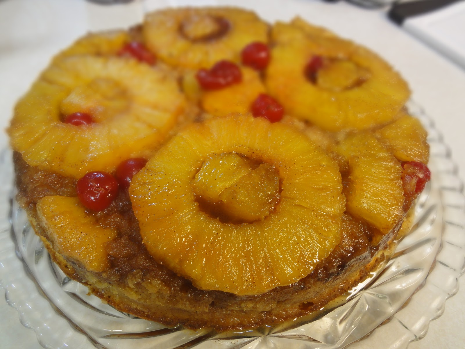 Blog as you Bake: Pineapple Upside Down Cake