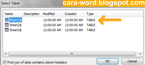 Cara Membuat Label Undangan Di Ms Word