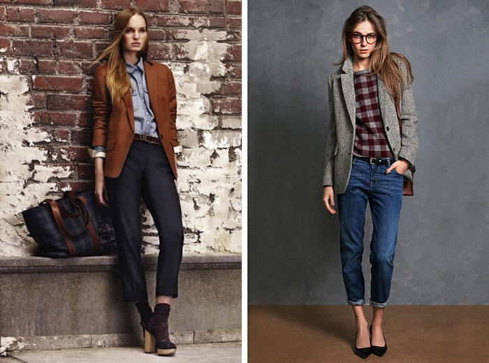 fall fashion inspiration, preppy style