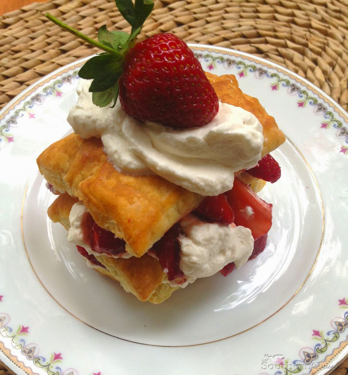 Mandarin Napoleons With Sugared Wonton Wrappers Recipe — Dishmaps