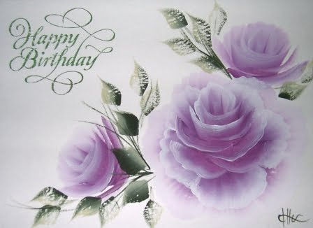 Happy birthday greeting cards free download top 10 best wallpapers happy birthday greetings roses with purple backgrounds m4hsunfo