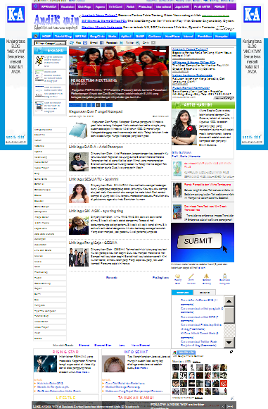 Download Template mirip kapanLagi.com dan Kucoba.com Megazine V-1.0