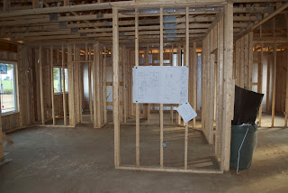 Framing In New House