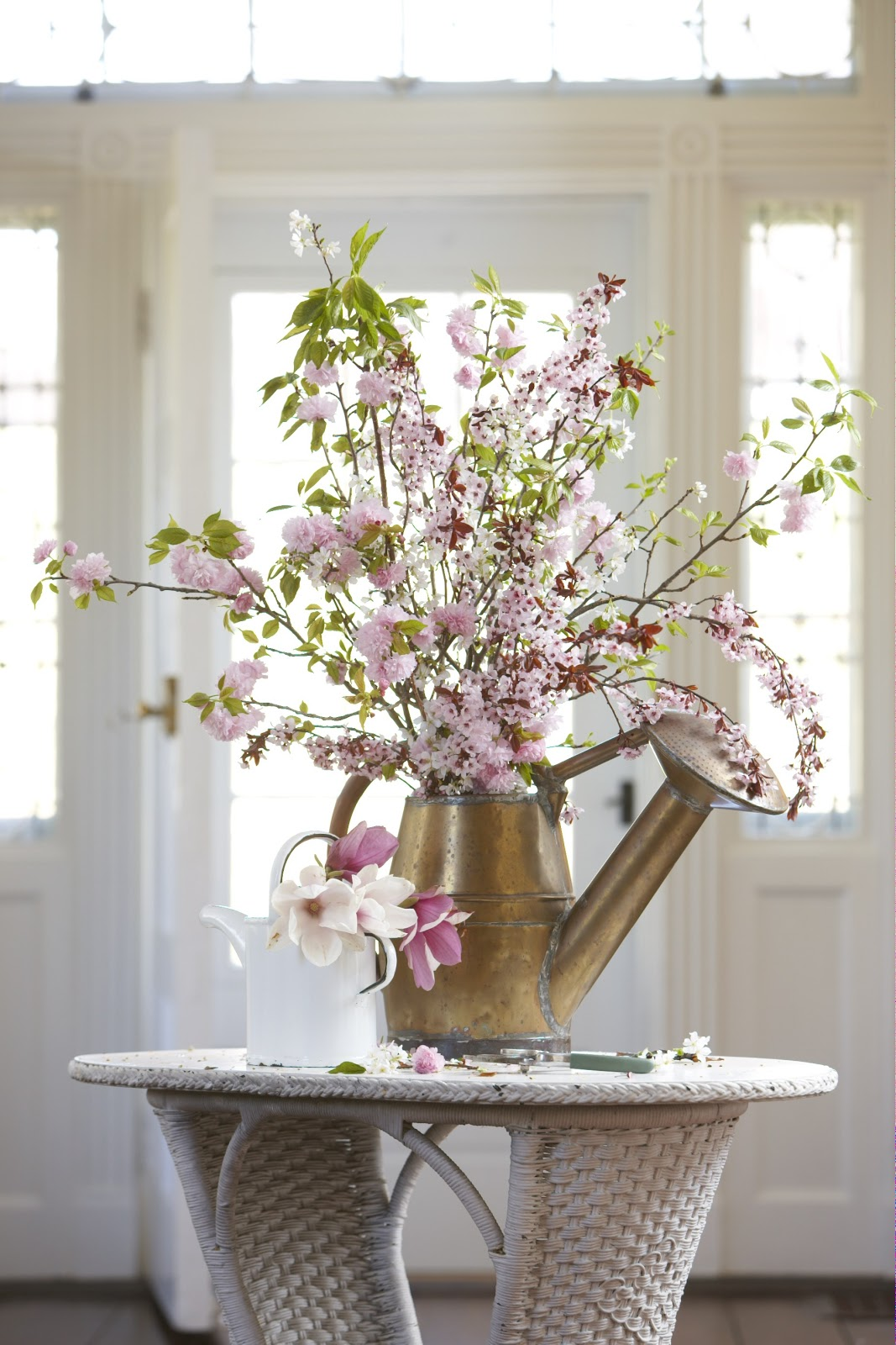 Karin Lidbeck Create Impact With Cherry Blossoms