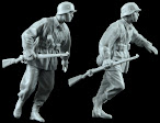Review: Alpine Miniatures 1/35th scale 35168 WSS Infantry Set (2 Figures)