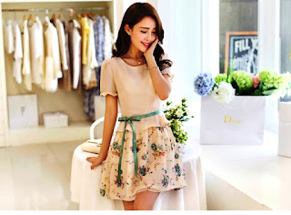 Model Baju Dress Korea Anak Remaja