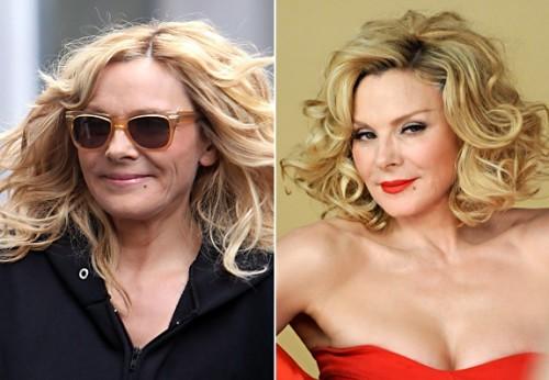 Kim Cattrall sans maquillage