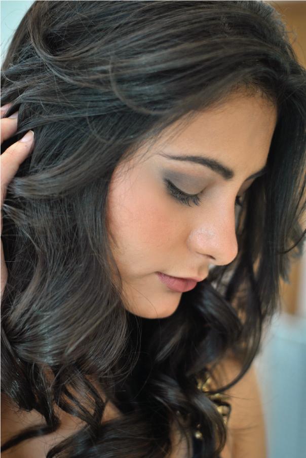 Bárbara Urias - maquiagem básica para o dia-a-dia. Por Hugo Martins do salão Platinum Visage.