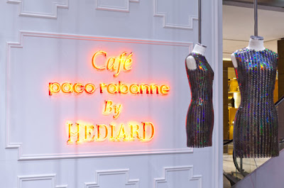 Café Paco Rabanne by Hédiard at Printemps Paris