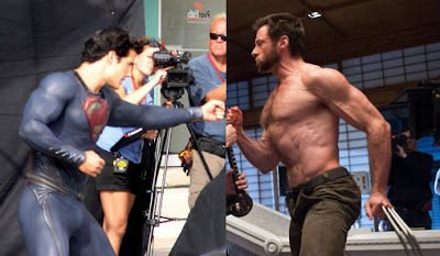 Superman Batman Wolverine who would win