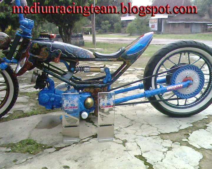 Honda Astrea Modifikasi AirBrust Sansjaya title=