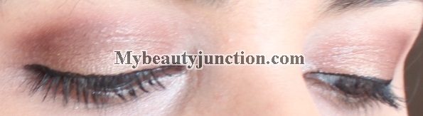 EOTD: Soft rose gold eye makeup with Urban Decay N@ked3 eyeshadows