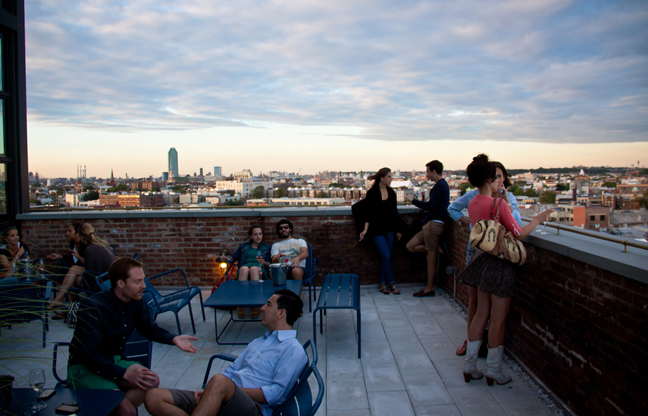 Wiiliamsburg Brooklyn Rooftop Bars - The Ides