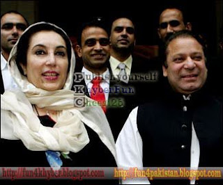 Nawaz sharif and benazir bhutto pictures