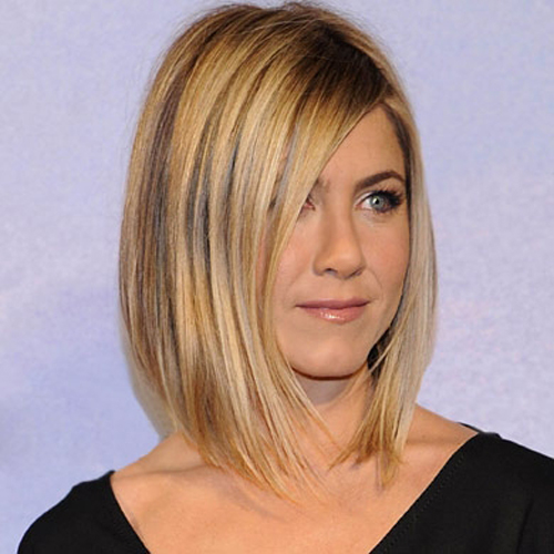 Jennifer Aniston hair - The Sleek Bob