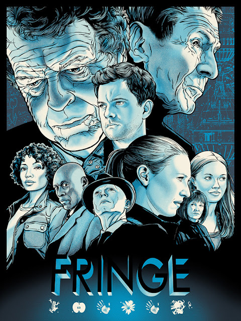 Fringe Benefits Limited Edition Fringe Screen Print Series - Fringe by Joshua Budich