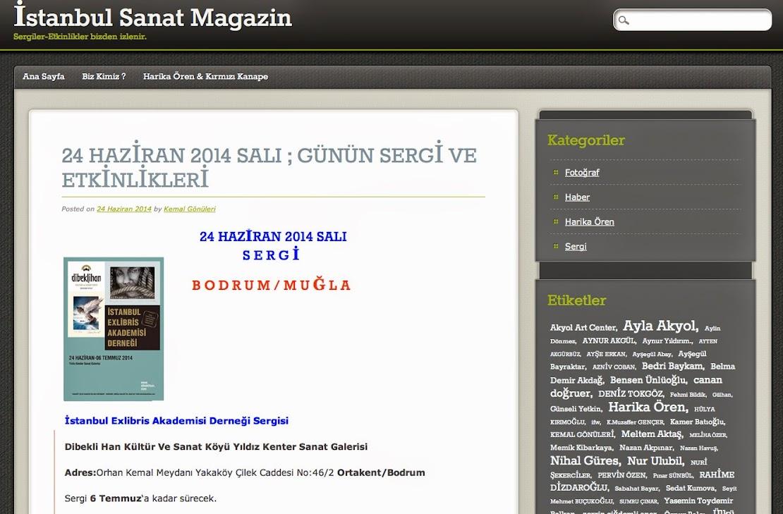 İSTANBUL SANAT MAGAZİN