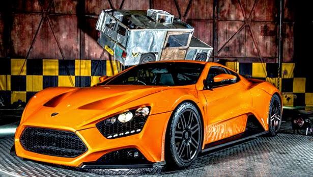 Zenvo ST1 Orange Tuning