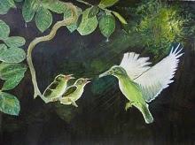 Tidbits, painting by Mrudula Bapat (part of her portfolio on www.indiaart.com)