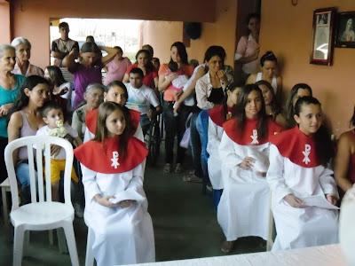 1ª Eucaristia na Com. do Sítio Rodeador