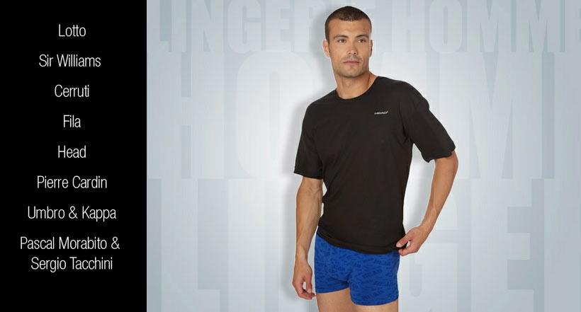 Venta multimarca de homewear camiseta boxers for Marcas de ropa interior