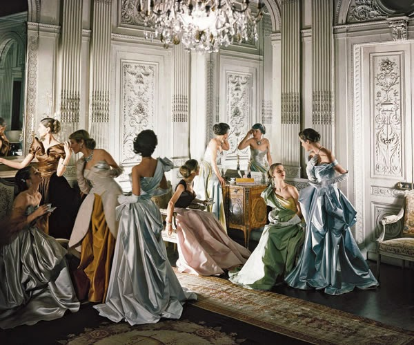 Cecil beaton ladies dancing in 1948