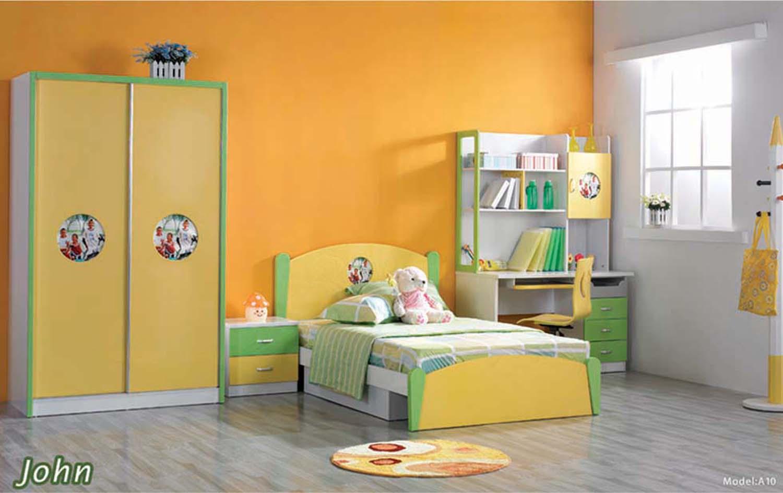 download warna cat pada desain kamar tidur anak dalam
