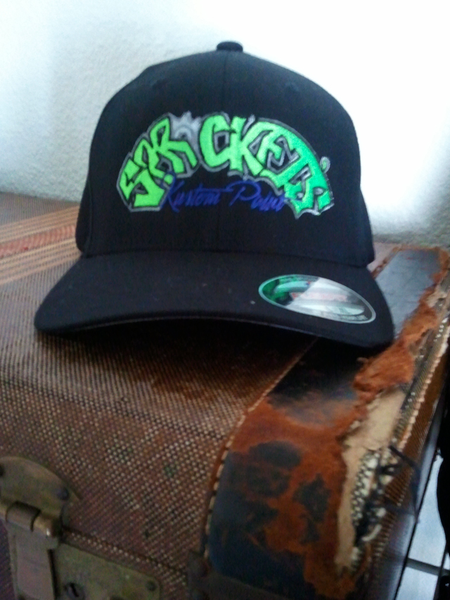 high quality killer hat | sprocket's kustom paint