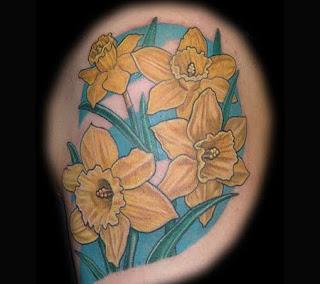 tatuaj cu narcise