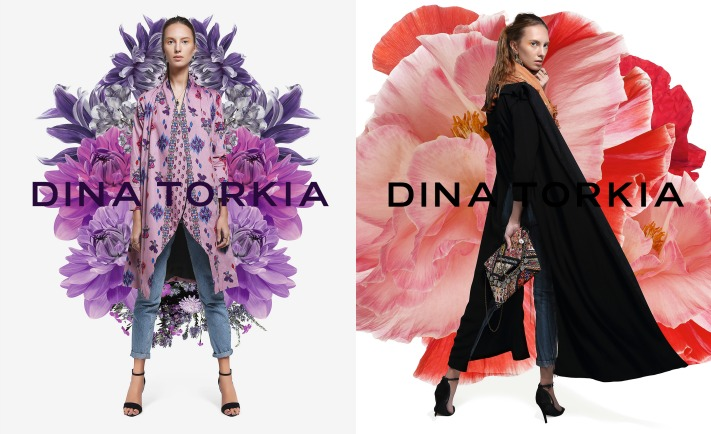 Dina Torkia Dina Tokio Debut Collection